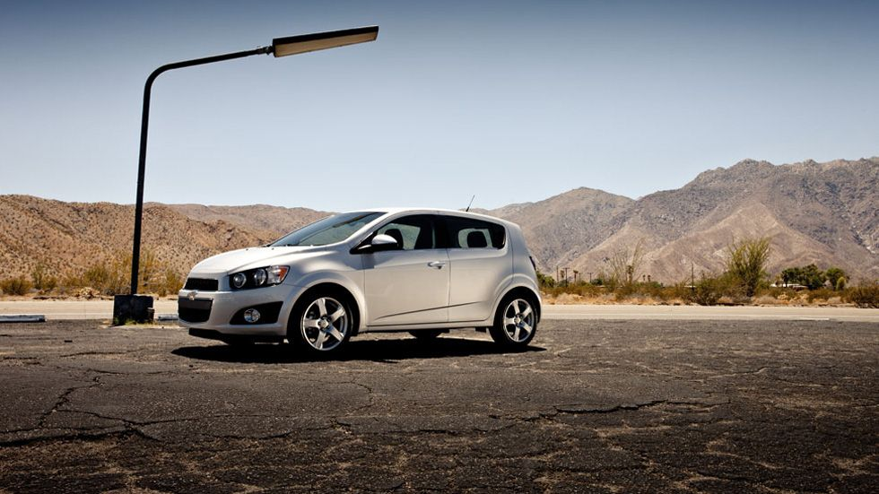 2012 Chevy Sonic Hatchback - Planning on ordering one of these sometime this year!