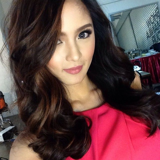 Jerry Javier Jerrybuanjavier Kim Chiu Chinita Instagram Photo Websta Webstagram Filipina Beauty Asian Beauty Hair Makeup