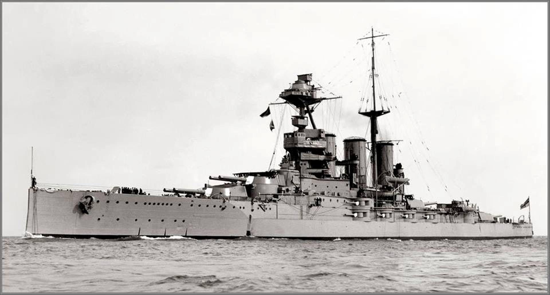 HMS Tiger, 1928