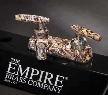 Empire Brass CAMO-WNR-77 True Weeds and Reeds Camo RV Lavatory ...