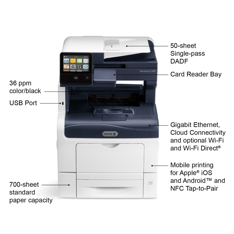 Xerox Versalink C405 Dn Color Laser Multifunction Printer