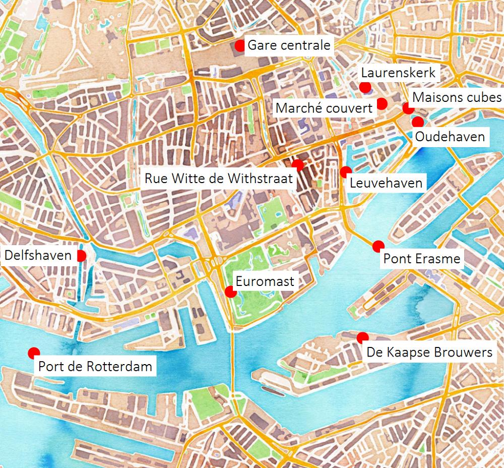Bons plans pour un week-end à Rotterdam - Carigami   Graphic design ...