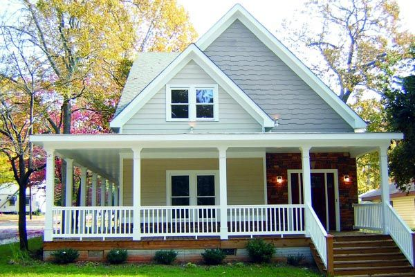 Country Farmhouse House Plan houses