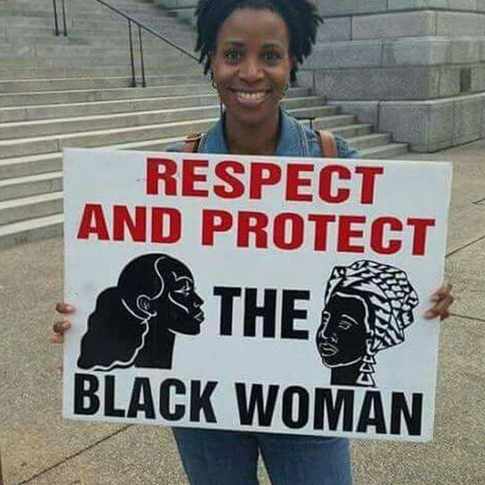 Respect and protect the black woman