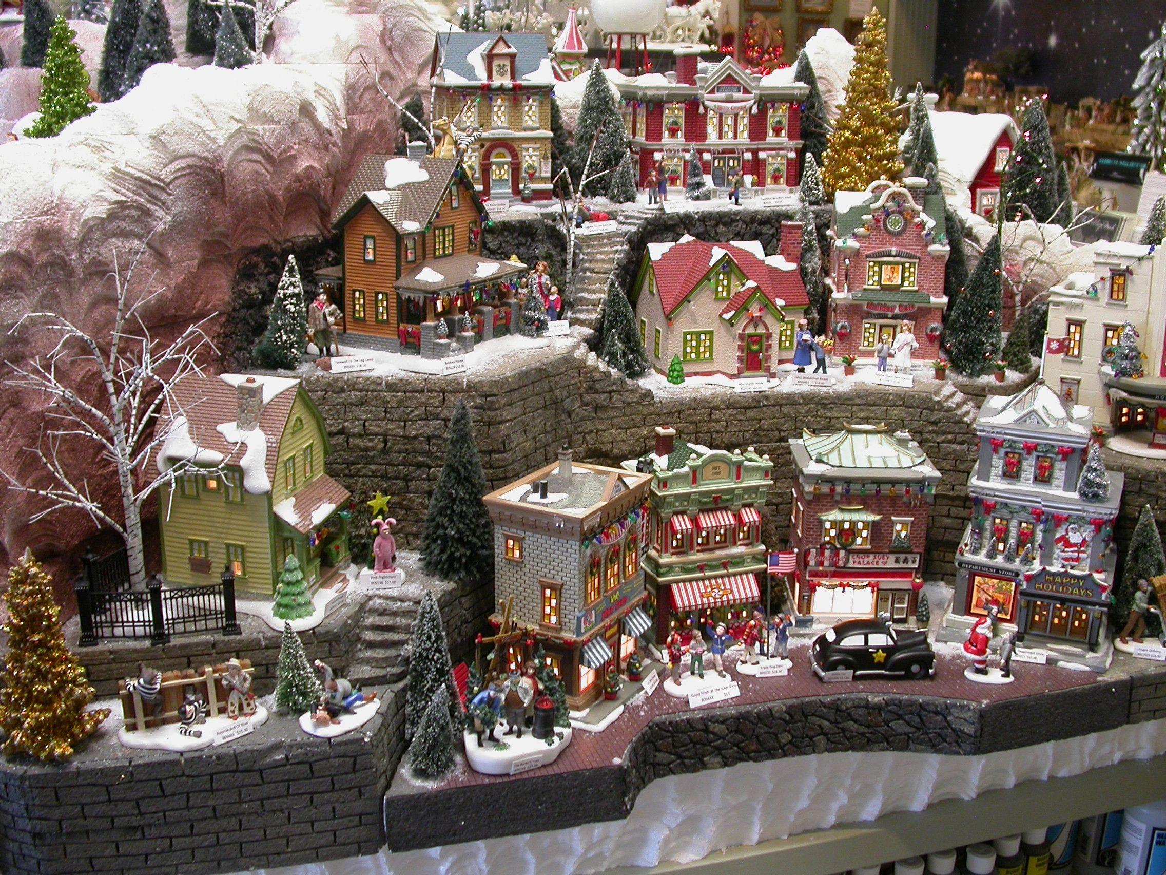 Dept 56 Christmas Story Village