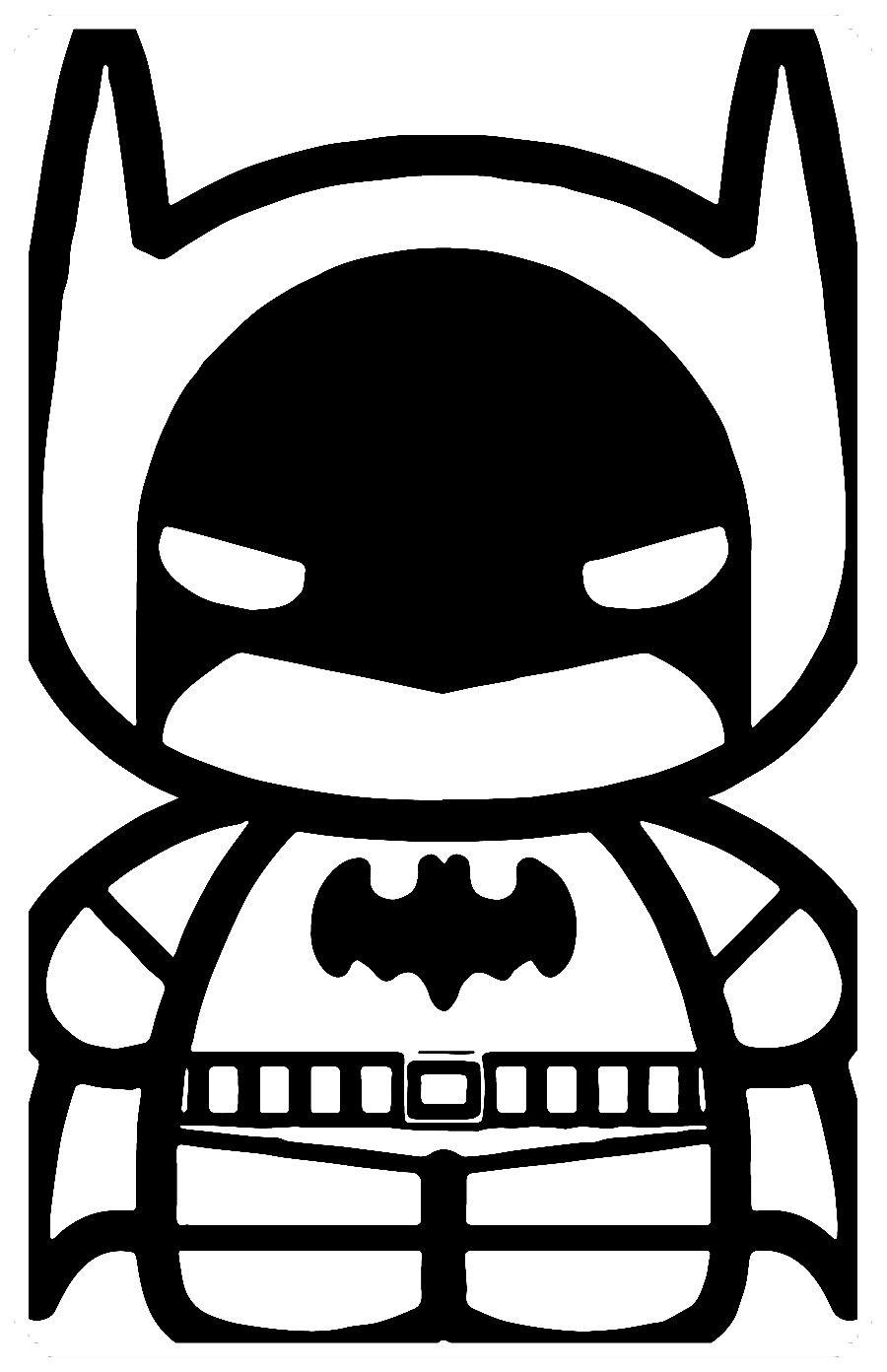 Pin En Imágenes De Batman Para Colorear