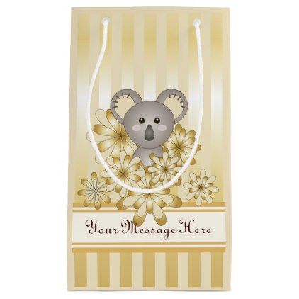 Baby shower kids birthday koala animal faux gold small gift bag baby shower kids birthday koala animal faux gold small gift bag baby birthday sweet negle Gallery