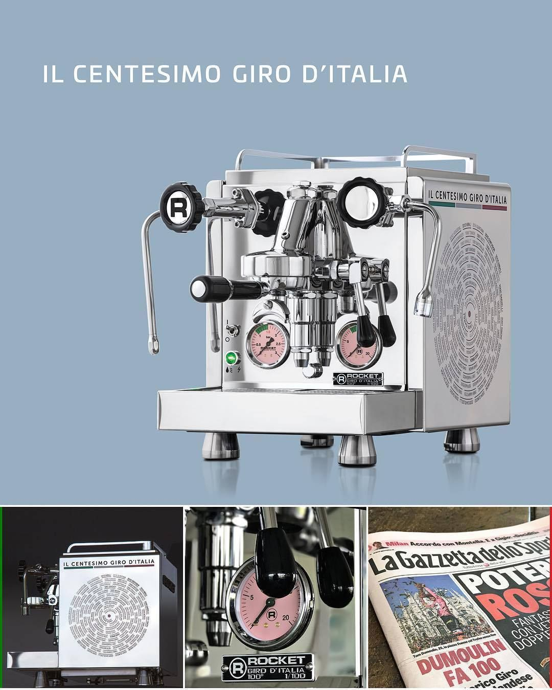 Rocket Espresso: U201cTo Celebrate The 100th Edition Of The Giro Du0027Italia Race, Rocket  Espresso Will Release U0027IL CENTESIMO GIRO Du0027ITALIAu0027 100 Individual ...