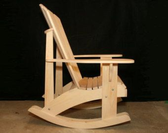 adirondack chair plans dwg files for cnc machines - Adirondack Rocking Chair