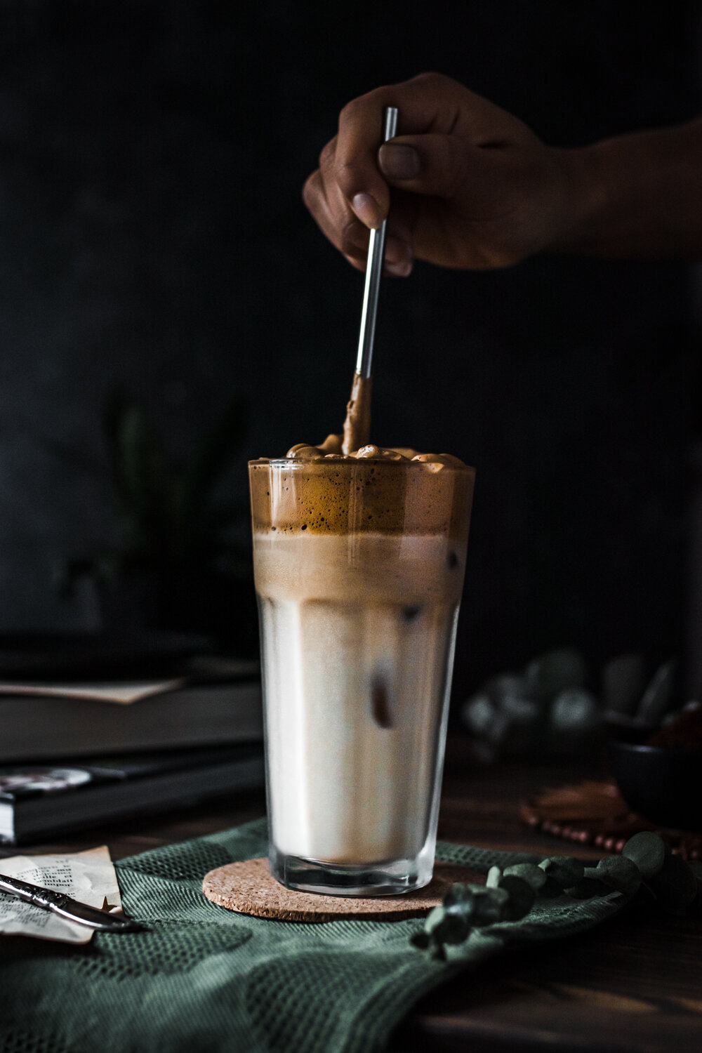 Maple Dalgona Coffee (Whipped Coffee) — Murielle