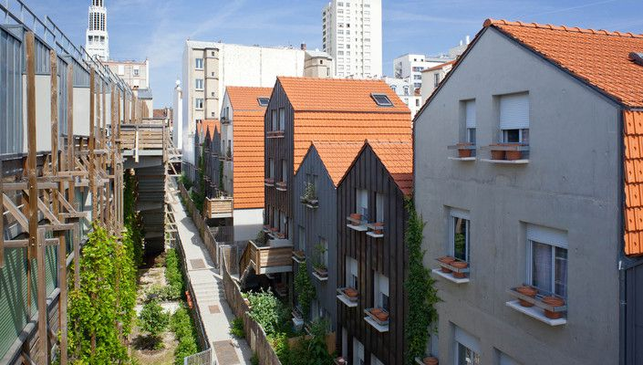 Logements 21 Rue Des Vignoles Paris 20 Edouard Francois