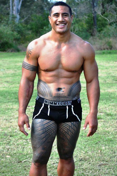 Samoan male