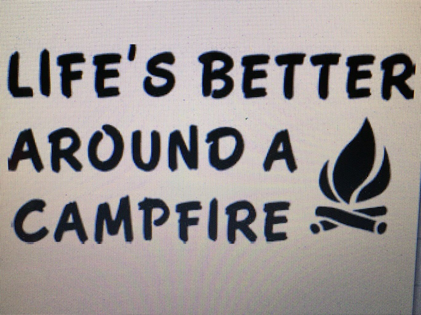 A personal favorite from my etsy shop httpsetsylisting do it yourself iron on decal camping life decal iron on camping decals solutioingenieria Choice Image
