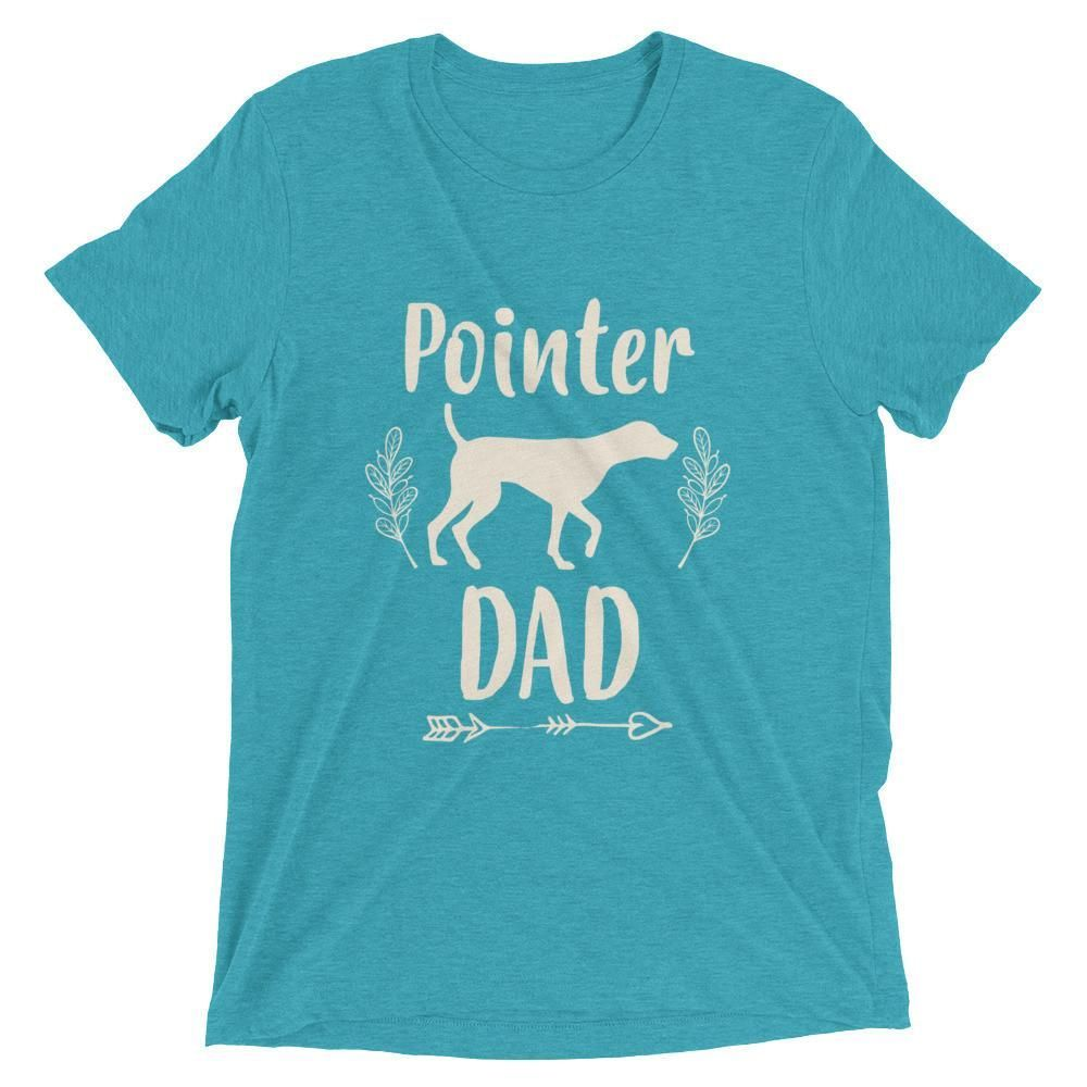 Men's Pointer Dad t-shirt - Pointer Gift for Dog Lovers