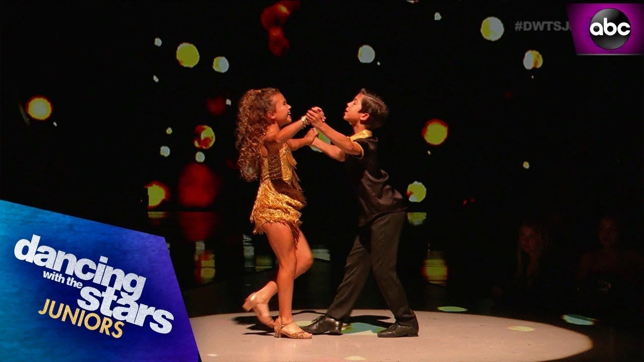Sky & JT's Samba DWTS Juniors Abc dance, Dancing with