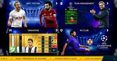 Download DLS 19 Mod 2020 UEFA Champions League Edition A