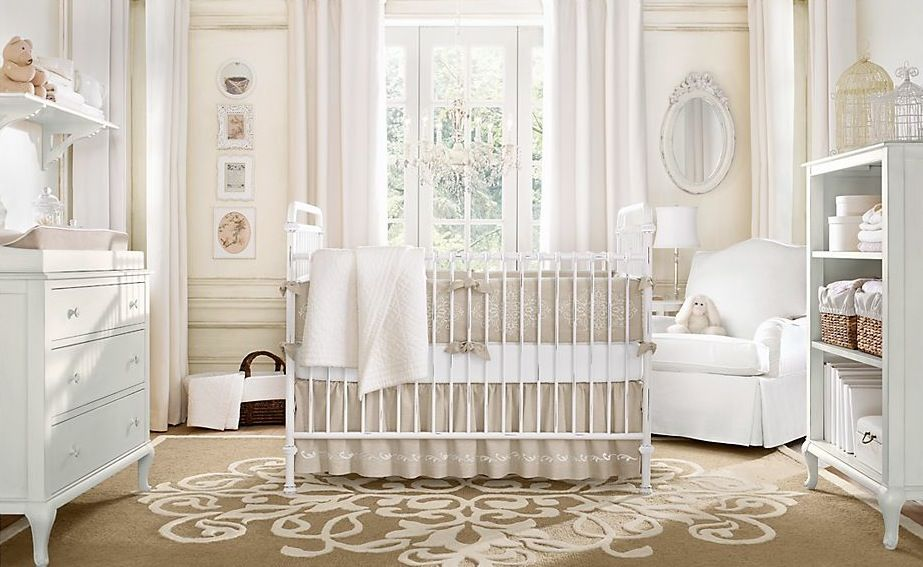 Attraktive Dekoration Babyzimmer Neutral Design