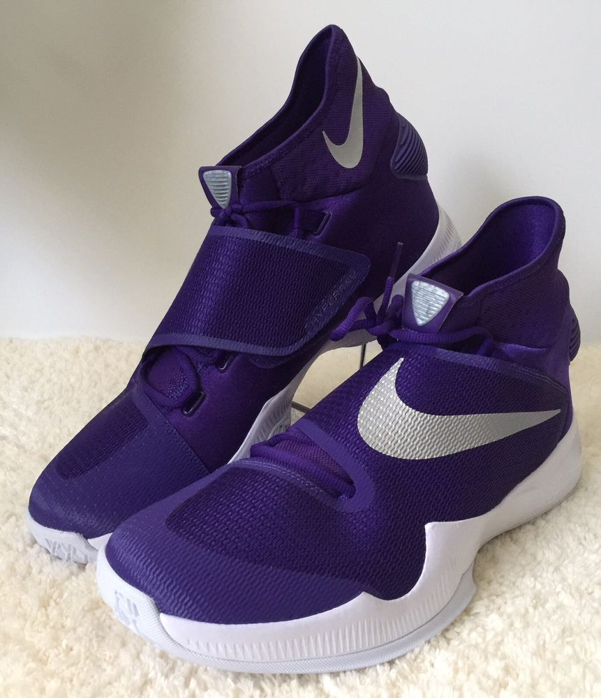 finest selection 872ba 20ba5 Nike Zoom HYPERREV 2016 Basketball Shoes Men Size 18 US Purple Silver  835439-501  Nike  BasketballShoes