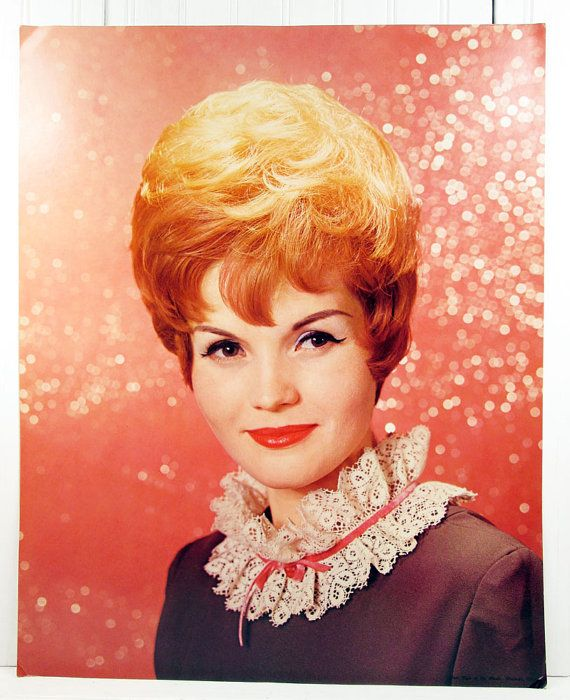 Vintage 1960s Beauty Salon Poster Hair Style Of The Month