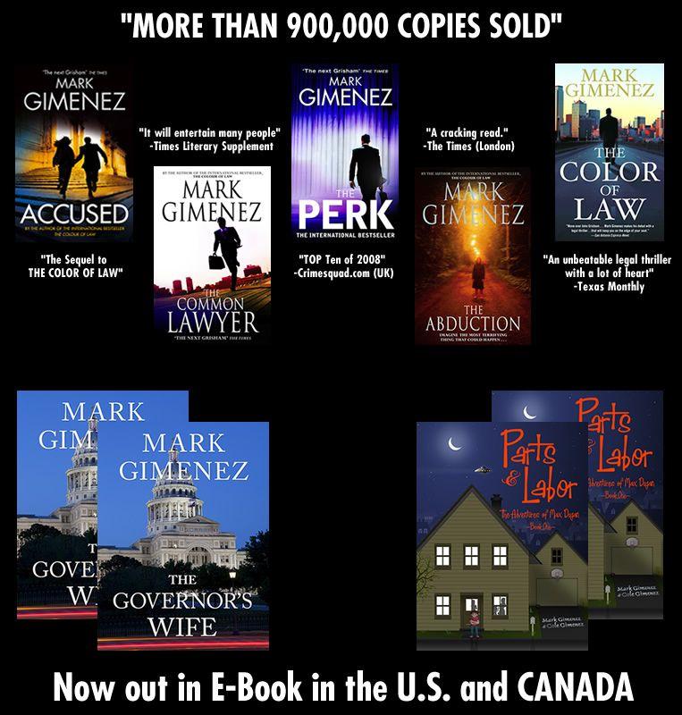 Great Texas Author! He Write Crime Suspense/mystery Books
