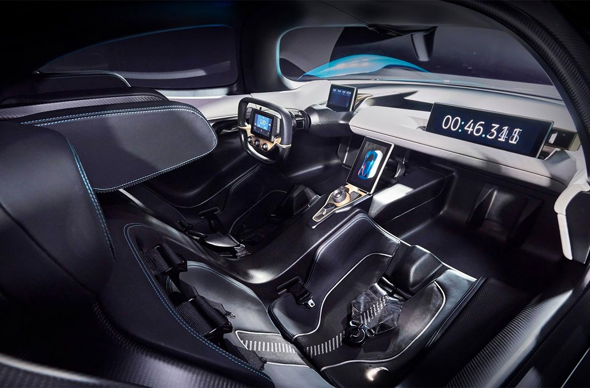 Developed By Chinese Startup Nextev The Nio Ep9 Recently Set A World Record Lap Time Of Seven Minutes And Five Seconds At The Nurb Car Super Cars Electric Car