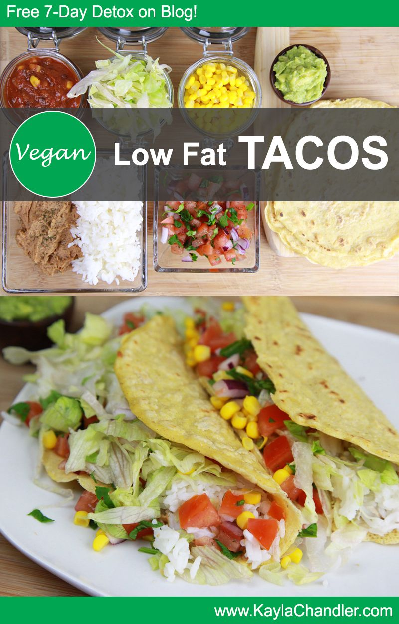 Homemade Gluten Free Vegan Tacos