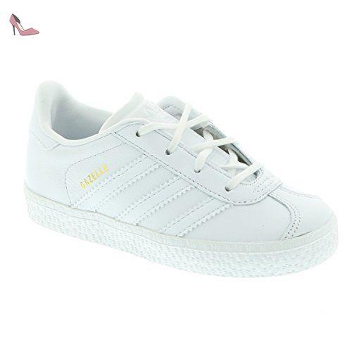 competitive price 53e81 829d8 Adidas Gazelle I – Chaussures deportivaspara enfants, Blanc –  (FtwblaFtwblaFtwbla