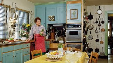 Julia Child Kitchen Design Tips | Tasting Table #kitchendesignbooks #kitchencrushes