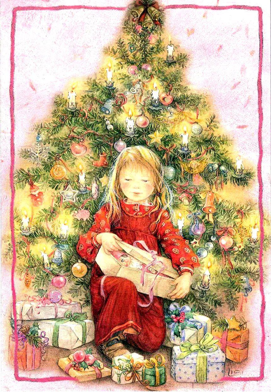 Открытки челнах, открытка дети и елка
