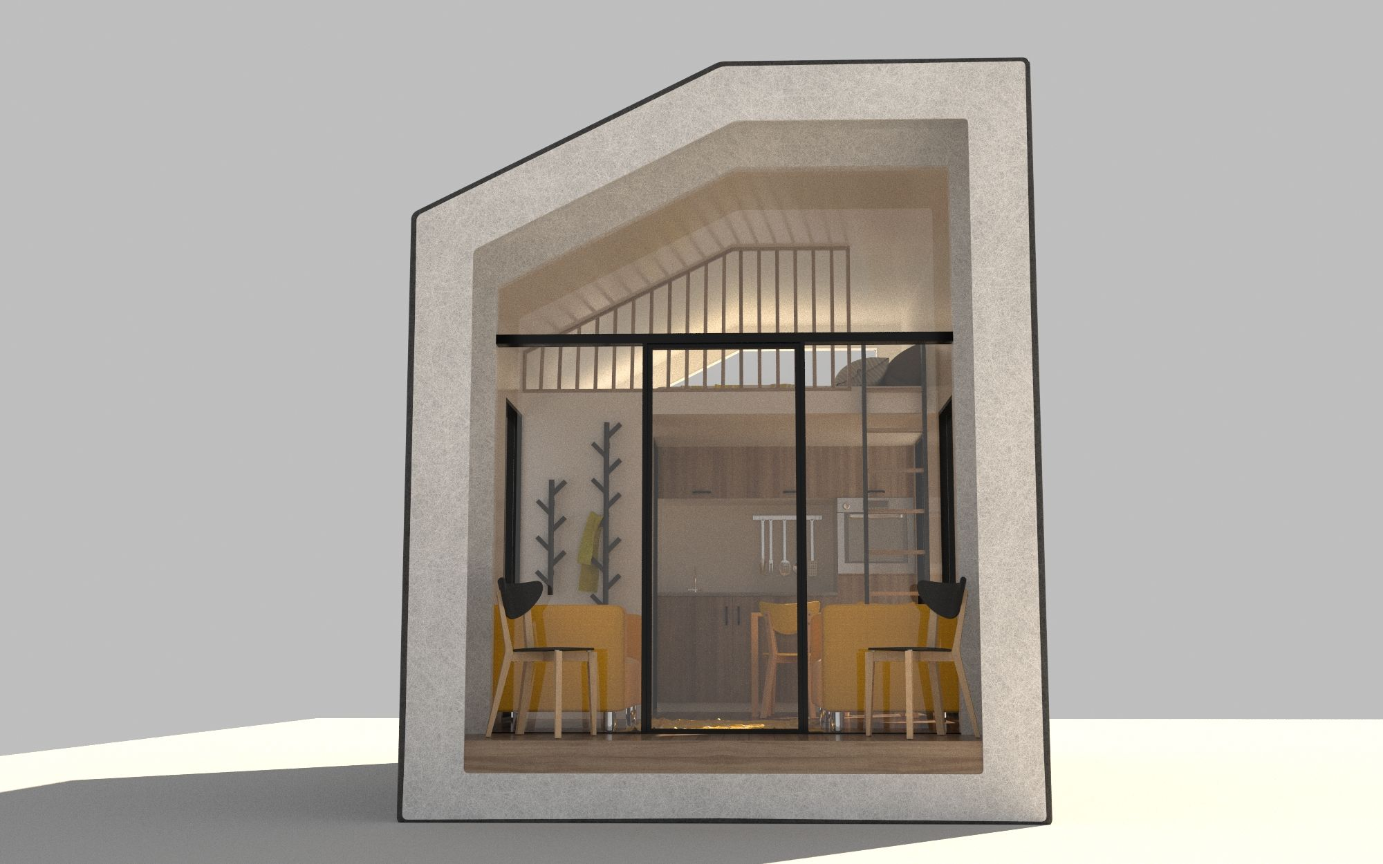 Modular tiny homes made of hemp could solve workforce housing