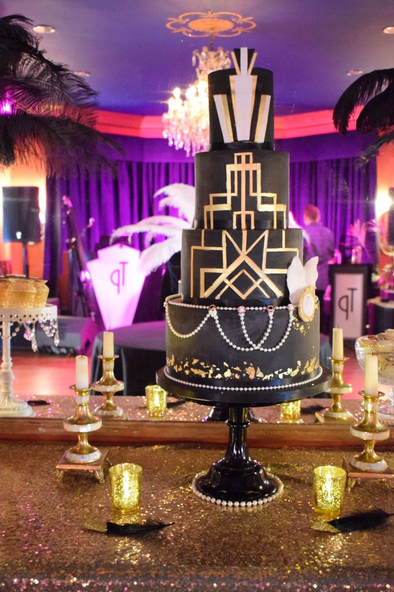 1920s wedding decoration ideas  Gatsby Party by SB Events eventsplanning  Fiesta decor