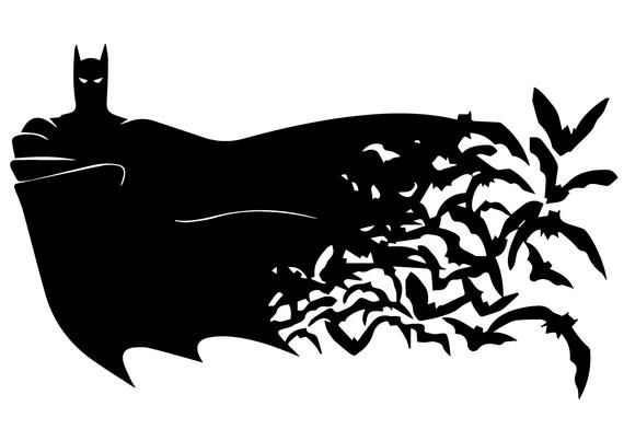 Batman Svg Nike Svg Batman And Nike Clipart Batman Logo And Nike