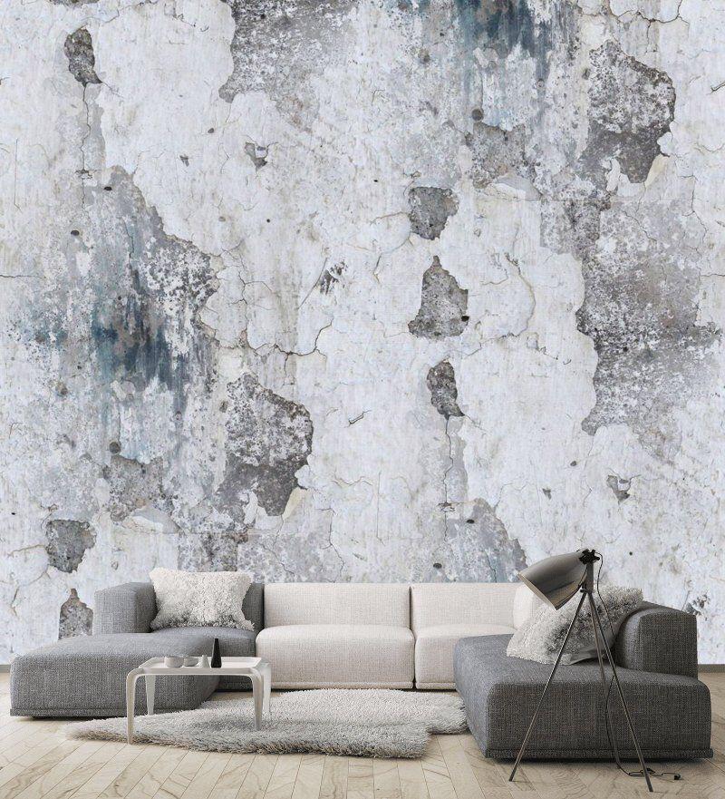 Wallpaper Vinylself Adhesive Gray Concrete Wall Design Art Etsy Painting Concrete Walls Concrete Art Texture Art