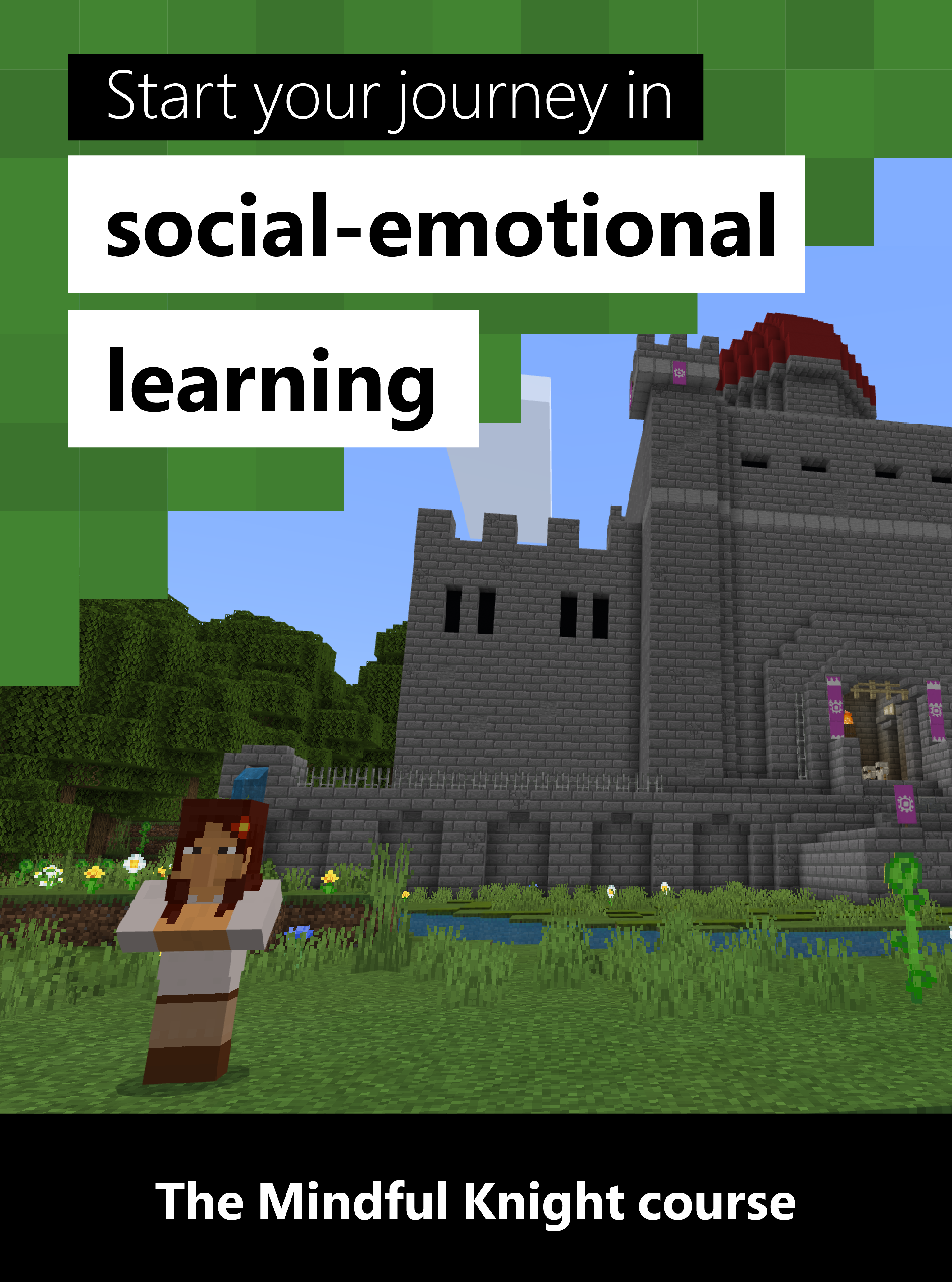 Mindfulness In Minecraft A Beginner Level Course Social Emotional Social Emotional Learning Counseling Lessons [ 4126 x 3064 Pixel ]