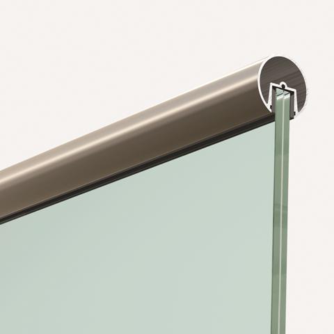 Pasamanos aluminio inox redondo pasamanos pinterest - Barandas de aluminio ...