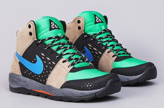 Nike ACG Air Alder Mid – Khaki, Distance Blue & Green