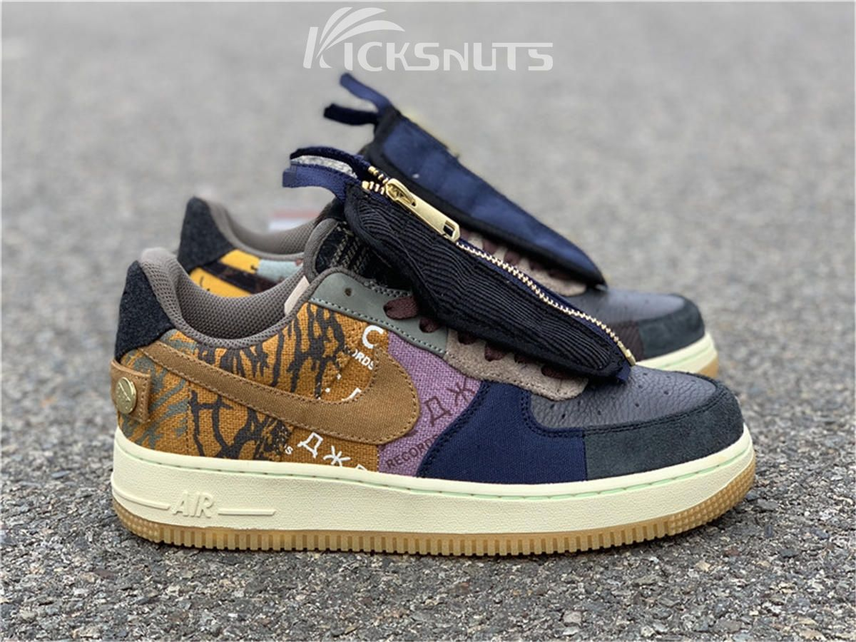 Authentic Travis Scott X Nike Air Force 1 Low Nike Shoes Air