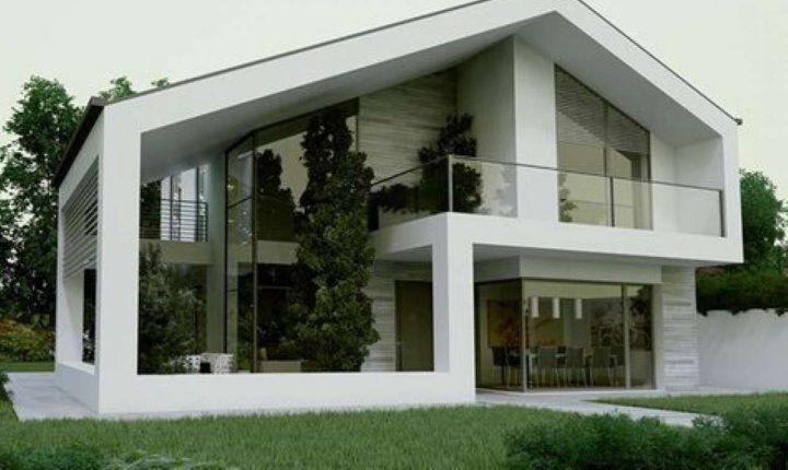 Illuminazione esterna casa indipendente house