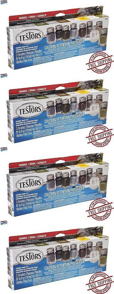 Tools Supplies and Engines 2594: Testors Promotional Enamel