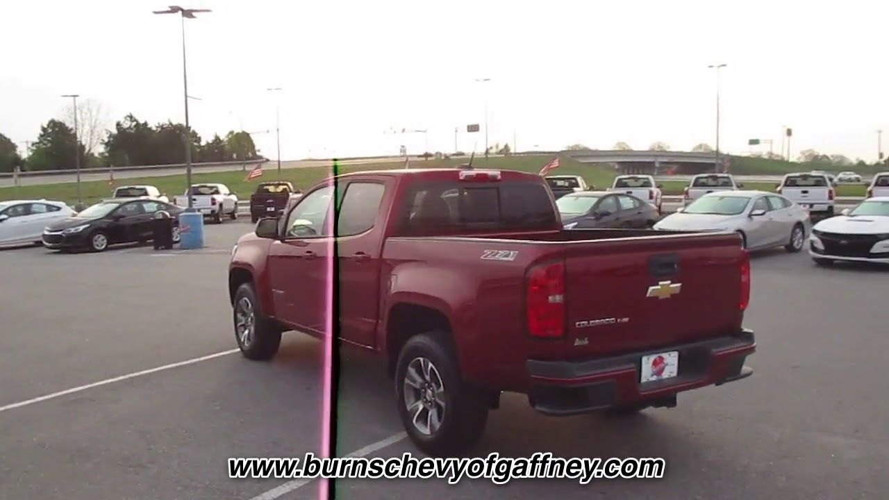 NEW 2019 CHEVROLET COLORADO 4WD Z71 at Burns Chevrolet of