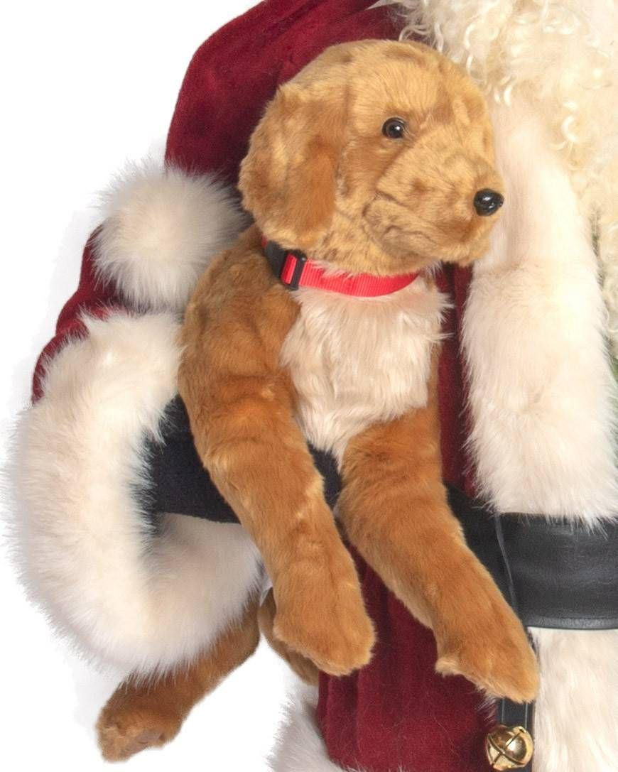 Life Size Santa And Friends Balsam Hill With An Adorable Stuffed