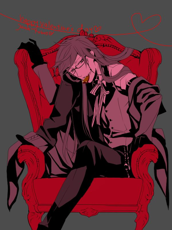 -volcanic nosebleeds while swooning and passes out-