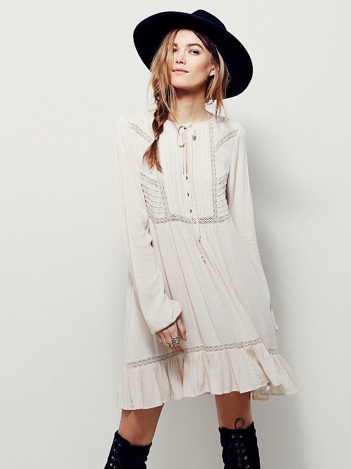 Free People Sweet Treat Mini Shirtdress, AU$183.28