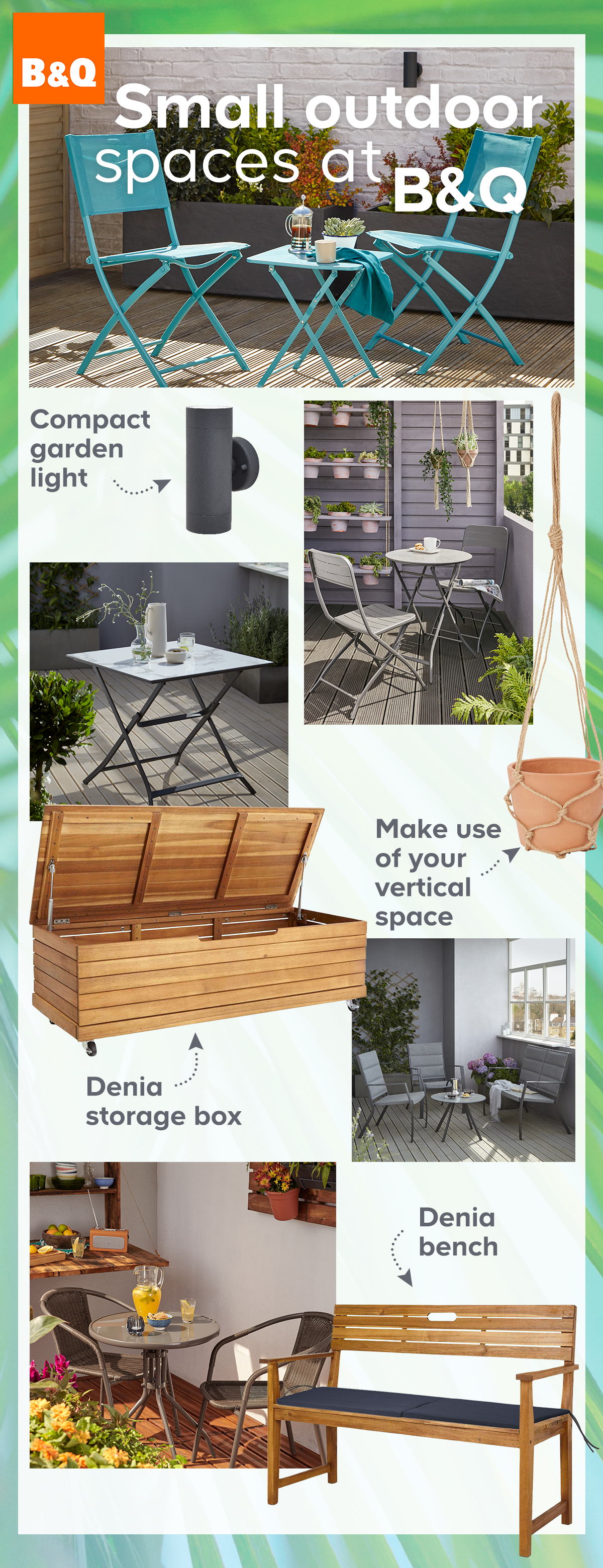 Small Patio Ideas Apartment Sunloungers