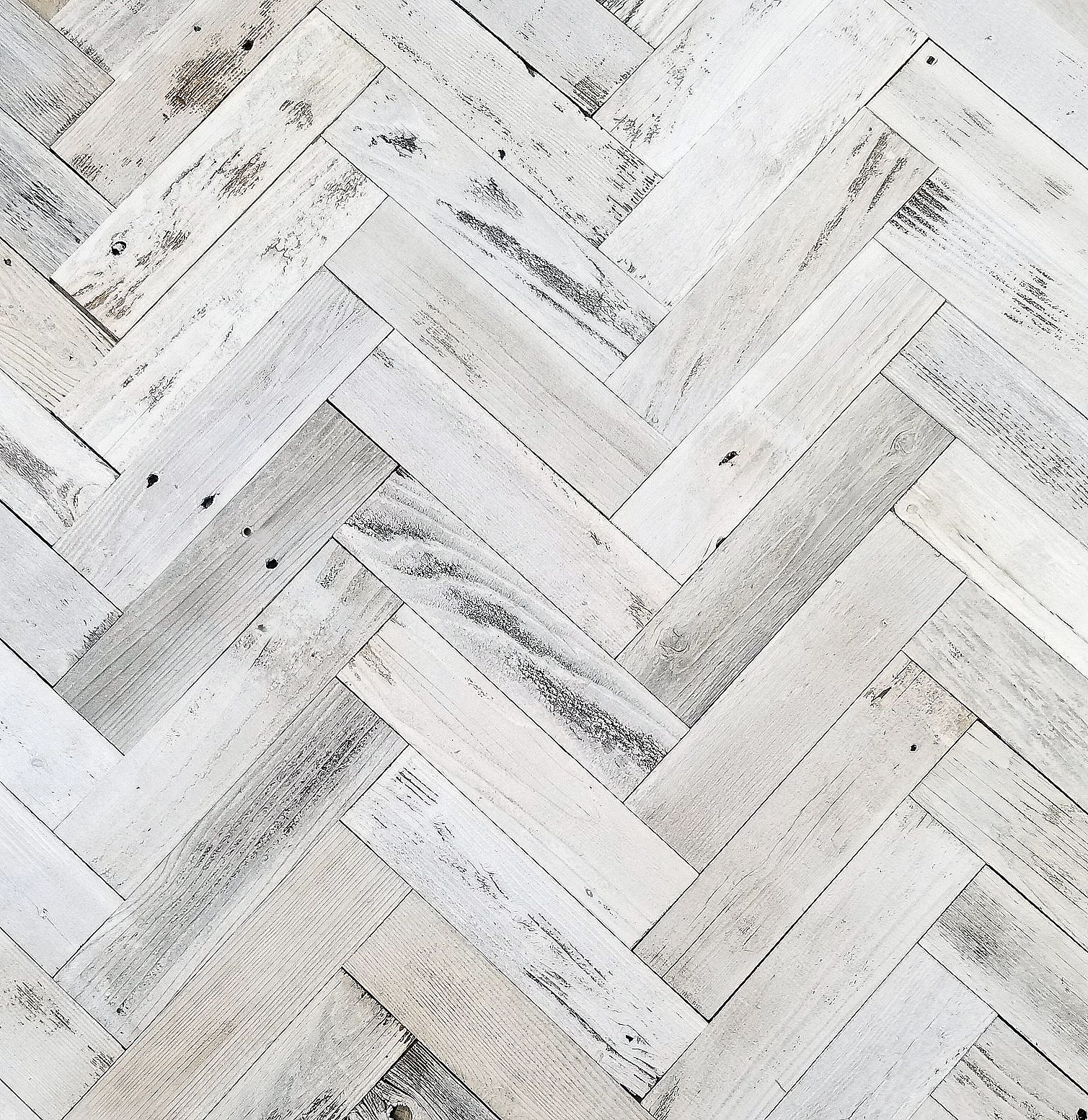 Herringbone reclaimed barnwood wall planks simple peel and stick