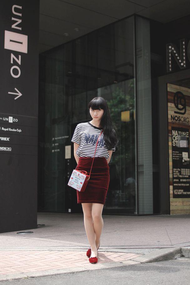 [Street Style] ASAMI | student (Tokyo)