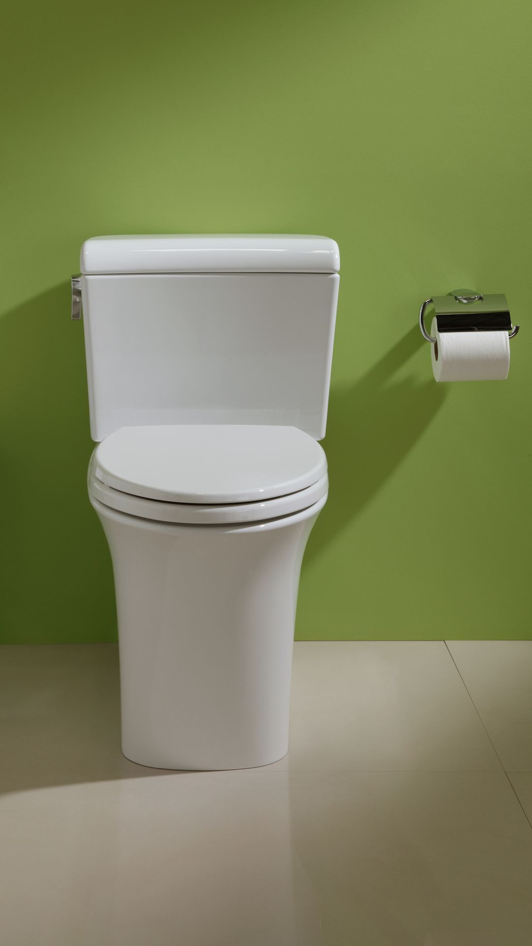 Maris® Dual Flush Two-Piece Toilet, 1.28 GPF & 0.9 GPF, Elongated ...