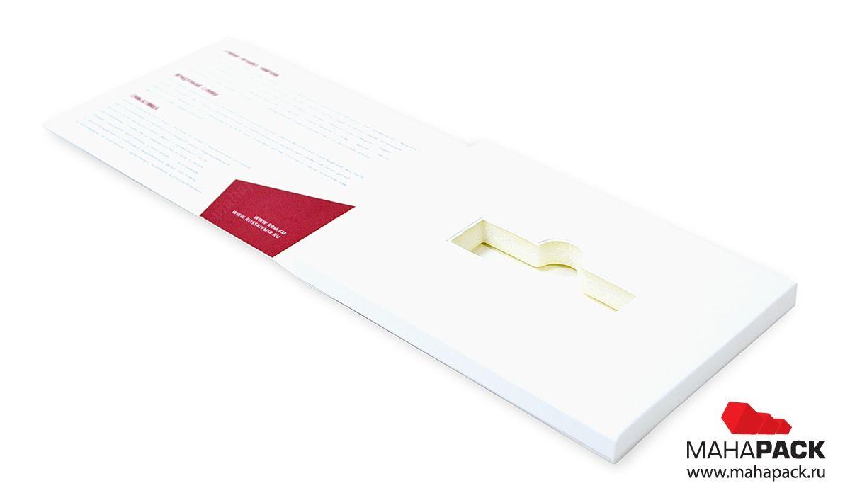 Фирменная картонная упаковка для тортов