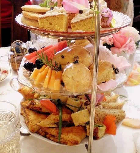 High tea! I believe in indulging every chance you get :)