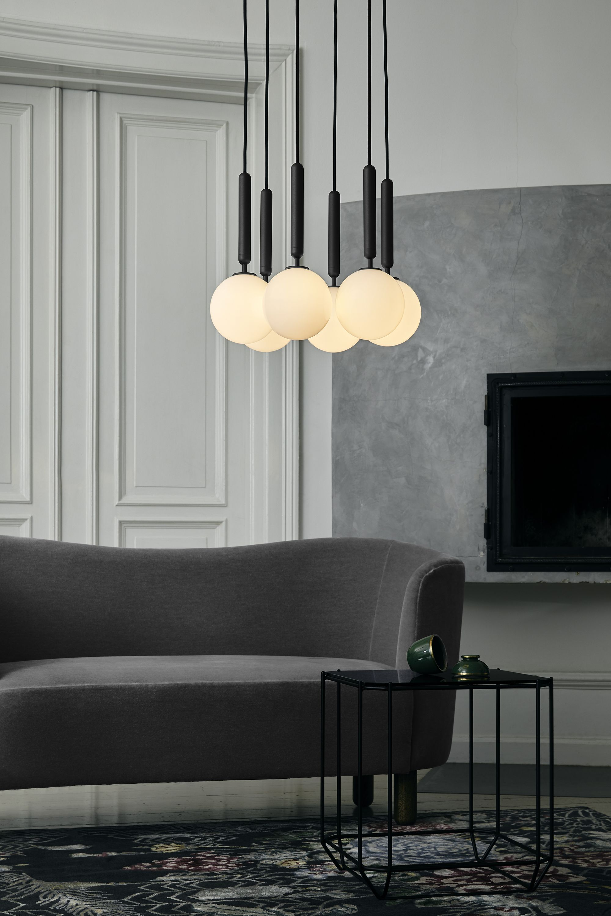 Miira 6 by nuura the unique and nordic lighting collection miira is created in a simple and timeless design the lamps complement each other